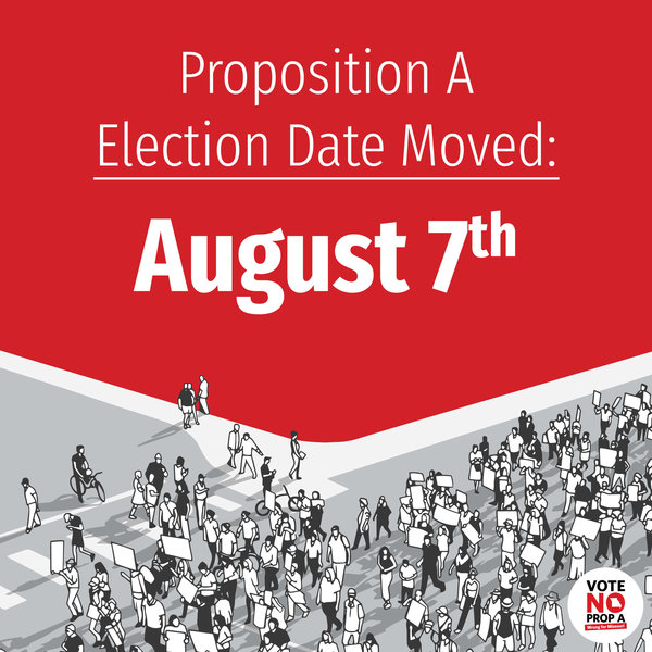 Prop A election moved to Aug 7